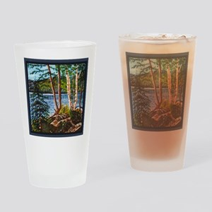 GLACIERLAKETHROWPILLOWCP Drinking Glass