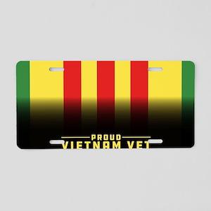 Proud Vietnam Vet Aluminum License Plate