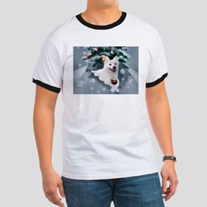 American Eskimo Dog Christmas T-Shirt