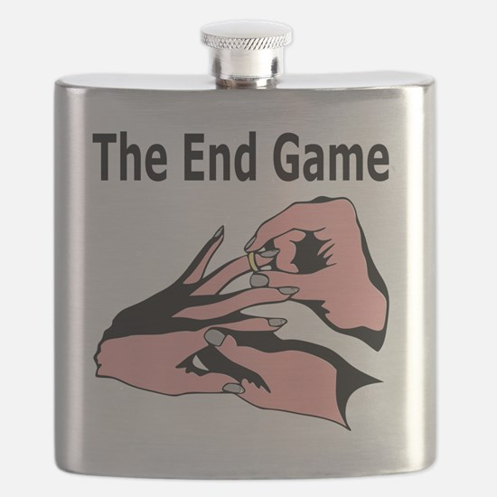 Marriage Humor: The End Game Flask