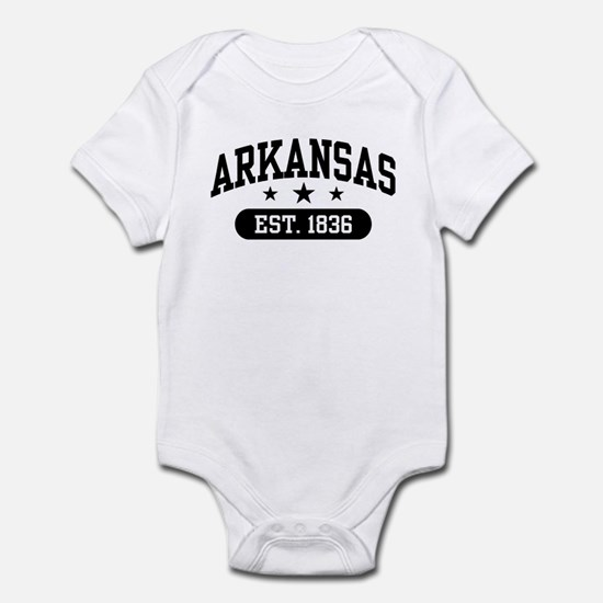 Arkansas Est. 1836 Infant Bodysuit