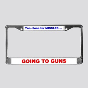 FLYING IS LIFE License Plate Frame