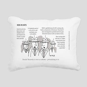 MEN_Private Soc. Sec. Rectangular Canvas Pillow