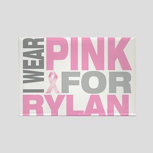 I-wear-pink-for-RYLAN Rectangle Magnet