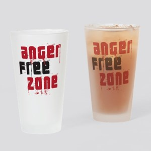angerfree copy Drinking Glass