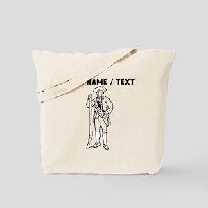 Custom Revolutionary War Soldier Tote Bag