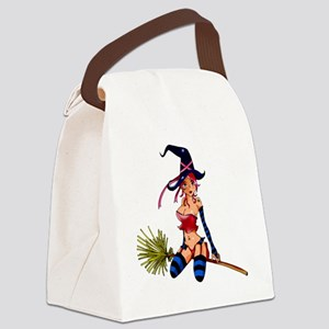 Sexy Witch Canvas Lunch Bag