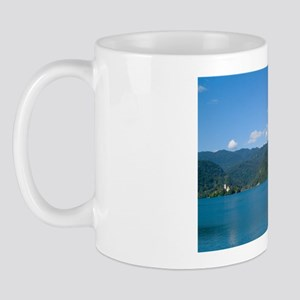 Slovenia Lake Bled Famous Castle and Sm Mug