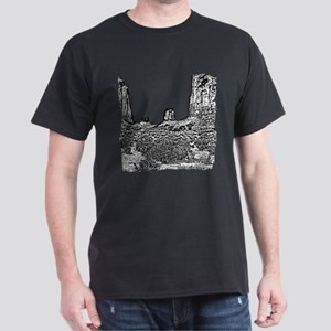 B@W The North Window, Monument Valley Dark T-Shirt