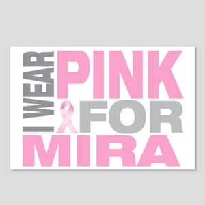 I-wear-pink-for-MIRA Postcards (Package of 8)