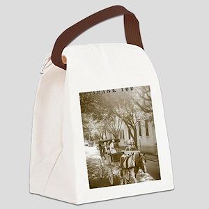 Thank you Charleston Canvas Lunch Bag