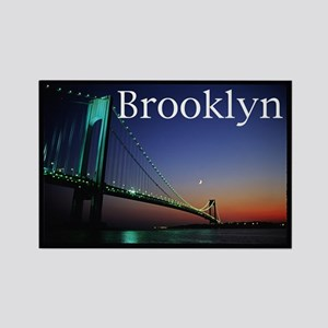 Verrazano Bridge, Bay Ridge, Rectangle Magnet