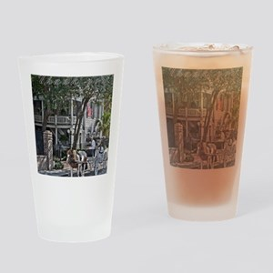 Thank you Chareslton 2 Drinking Glass