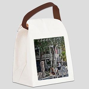 Thank you Chareslton 2 Canvas Lunch Bag