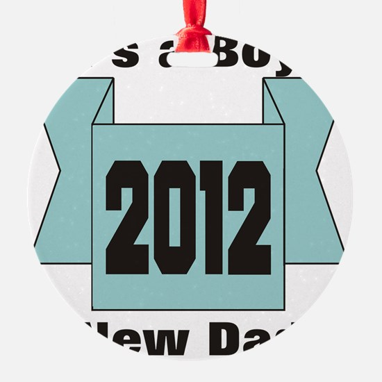 2012bluedad Ornament