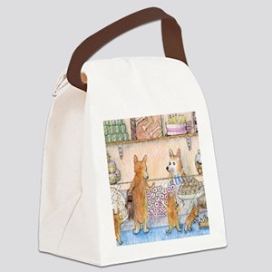 c cal 3 in the cake shop Canvas Lunch Bag