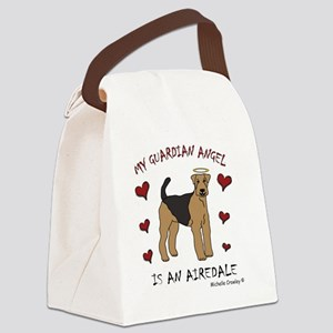 Airedale Canvas Lunch Bag