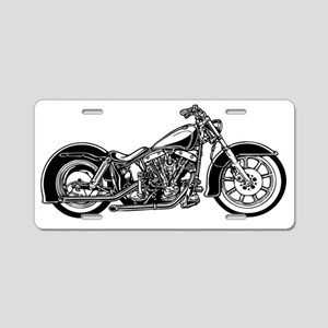 Bike-10-11-T Aluminum License Plate