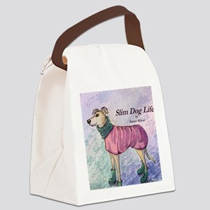 wh wheres my hat cover Canvas Lunch Bag
