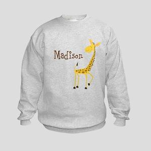 Personalized Giraffe Sweatshirt
