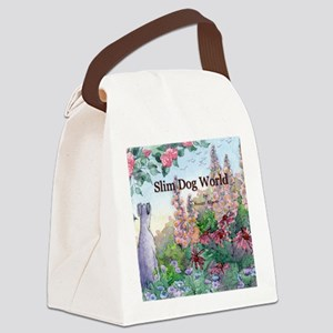 wh str lazy days cover Canvas Lunch Bag