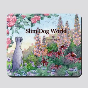 wh str lazy days cover Mousepad