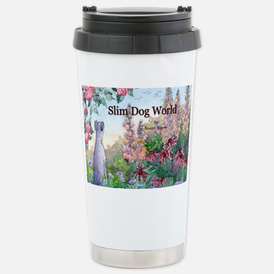 wh str lazy days cover Stainless Steel Travel Mug
