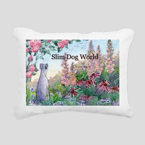 wh str lazy days cover Rectangular Canvas Pillow