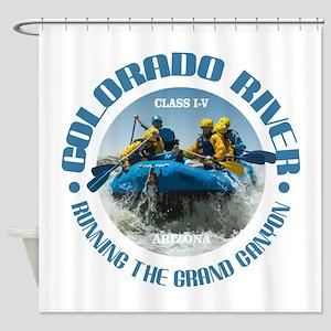 Colorado River (rafting) Shower Curtain