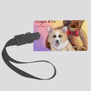 c cal 2 cov me and my pal Large Luggage Tag
