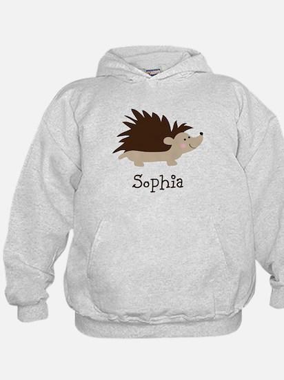 Personalized Hedgehog Hoodie