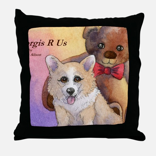 c cal 2 cov me and my pal Throw Pillow
