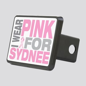 I-wear-pink-for-SYDNEE Rectangular Hitch Cover