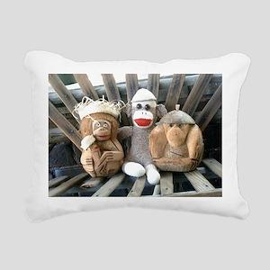 coconuts Rectangular Canvas Pillow