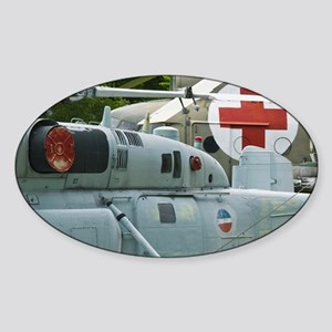 Belgrade. Yugoslav Aeronautical Mus Sticker (Oval)