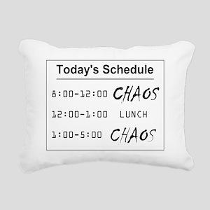 Organized Chaos - larger Rectangular Canvas Pillow