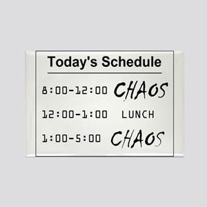Organized Chaos - larger Rectangle Magnet