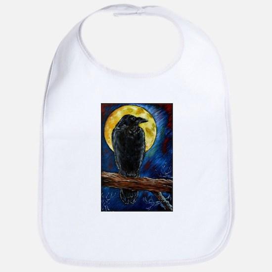 Raven Moon Baby Bib
