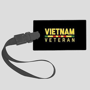 Vietnam Veteran Large Luggage Tag