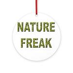 Nature Freak Ornament (Round)