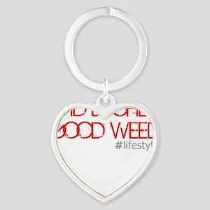 badbitchesgoodweed Heart Keychain