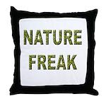 Nature Freak Throw Pillow