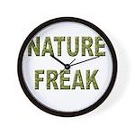 Nature Freak Wall Clock