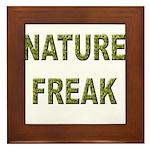 Nature Freak Framed Tile