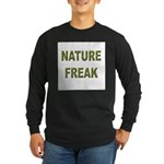 Nature Freak Long Sleeve Dark T-Shirt
