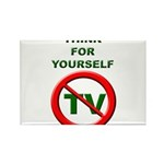 Think For Yourself Rectangle Magnet (10 pack)
