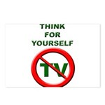 Think For Yourself Postcards (Package of 8)