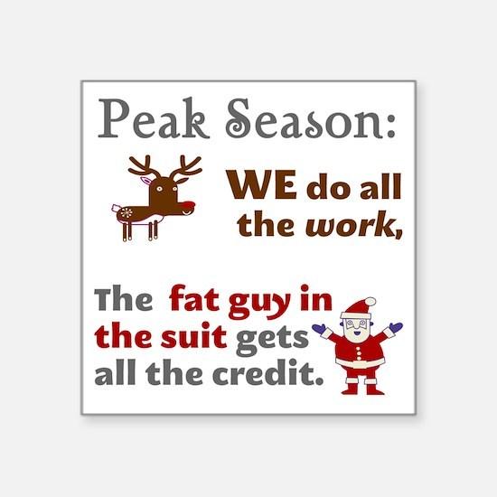 "peak-3000x3000-lite Square Sticker 3"" x 3"""