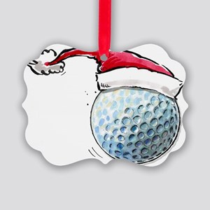 XmasGolf Picture Ornament