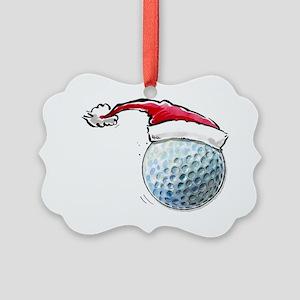 XmasGolf Picture Ornament